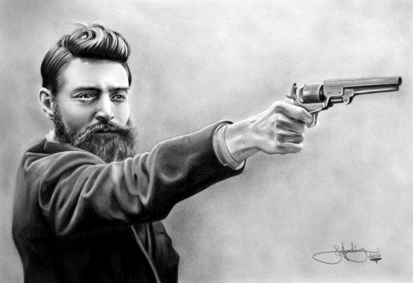Ned Kelly par artworksaustralia
